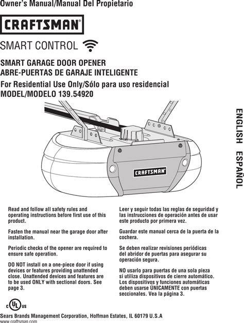 Craftsman Garage Door Opener Instructions Make Your Own Beautiful  HD Wallpapers, Images Over 1000+ [ralydesign.ml]