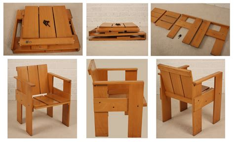 Crate chair plans Image
