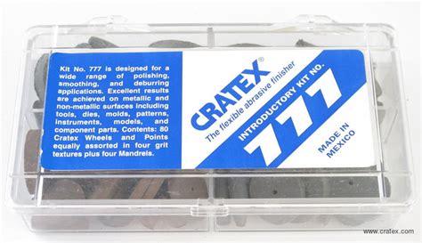 Cratex Abrasive Kit Cratex 777 Abrasive Kit