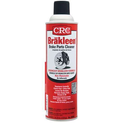 Crc Brakleen Brake Parts Cleaner Safety Data Sheet