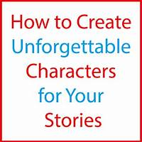 Best create unforgettable characters for your fiction online
