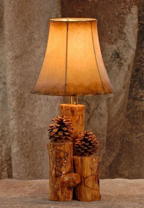 Creative DIY Wood Lamps