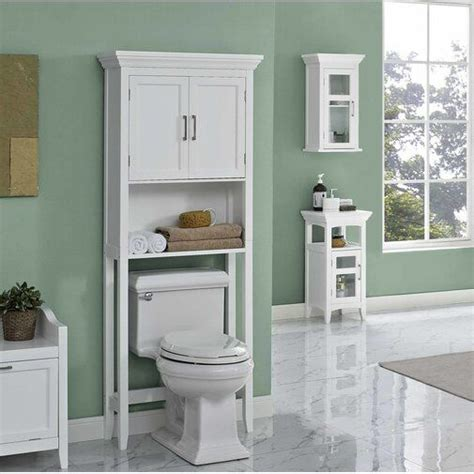 "Crenshaw 27"" W x 66.5"" H Over the Toilet Storage"