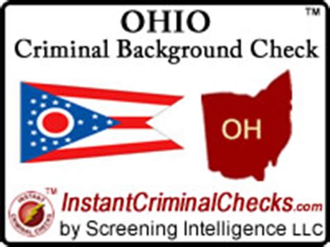 Criminal Background Checks Ohio