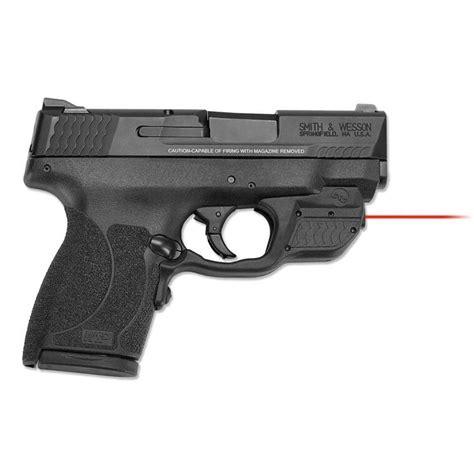 Crimson Trace Corporation Smith Wesson Mp 45 Shield Laserguard Smith Wesson Mp Shield 45 Laserguard Red