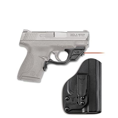 Crimson Trace Corporation Sw Shield 940 Laserguard Pro With Bladetech Iwb Holster Sw Mp Shield Laserguard Pro Green With Iwb Holster