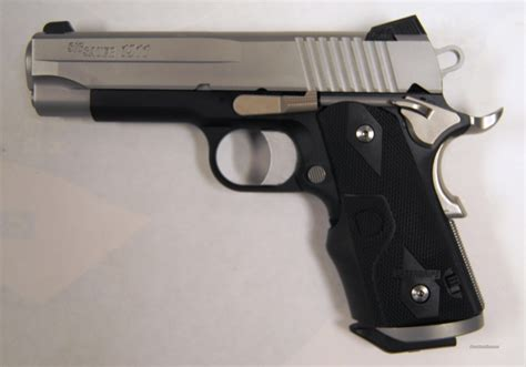 Crimson Trace Grips For Sig Sauer 1911