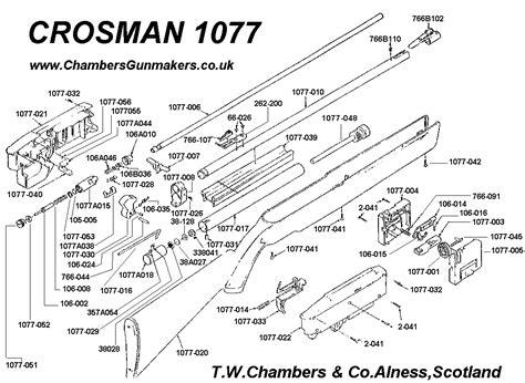 Crosman Airguns Model 1077 Air Rifle Manual