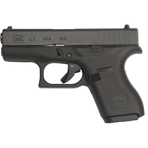 Crosshairs Usa Tactical Glock 43 Semiautomatic Pistol