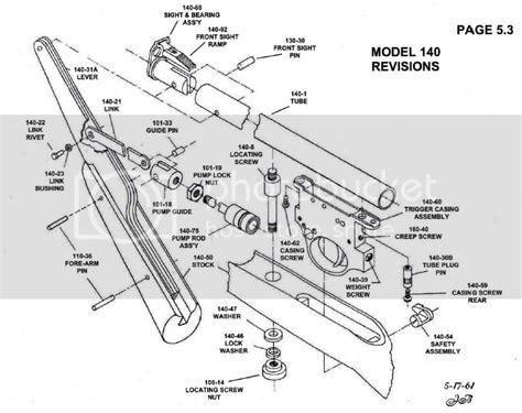 Crossman Air Rifle Parts Model 99