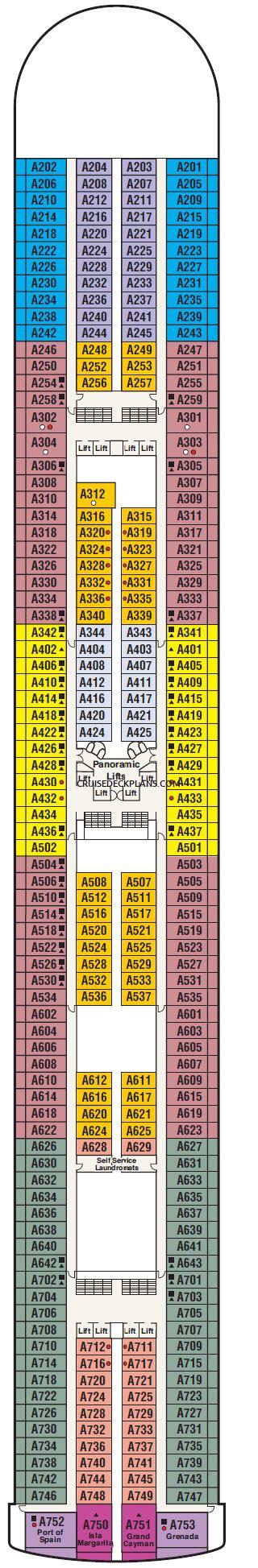 crown princess deck plan.aspx Image