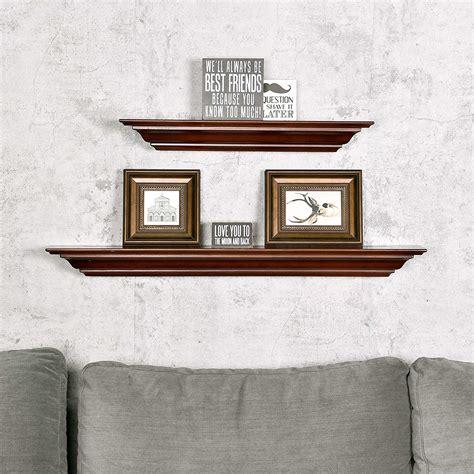 Crown molding wall shelf Image