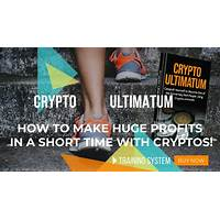 Crypto ultimatum simply follow the methods and multiply your money cheap