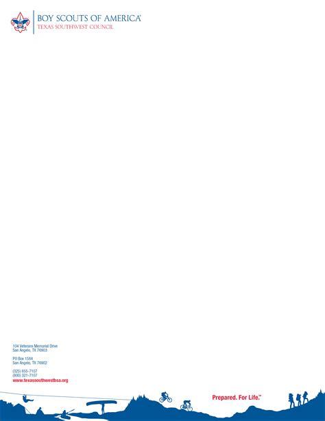 Cub Scout Letterhead Template CV Templates Download Free CV Templates [optimizareseo.online]