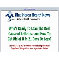 Cure arthritis naturally blue heron health news coupons