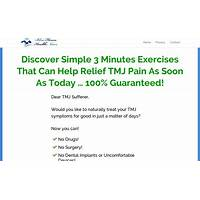 Cure for tmj, bruxing and tooth grinding blue heron health news does it work?
