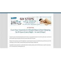 Best cure insomnia six steps to sleep online