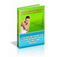 Cure tennis elbow ebook and step by step system promo code