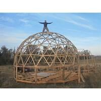 Curso para construir un domo geodesico v4 sin complejos conectores bonus