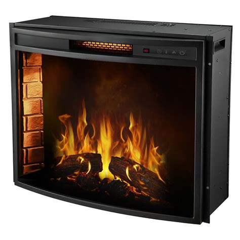 Curved Electric Fireplace Insert