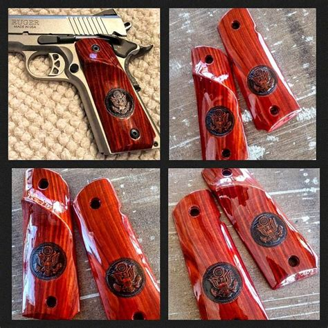 Custom 1911 Hand Grips At Brownells