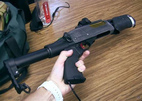 Custom Airsoft Semi Auto Hpa Shotgun