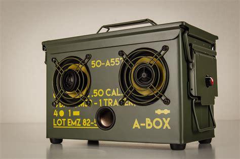Custom Ammo Can Portable Speaker Builds