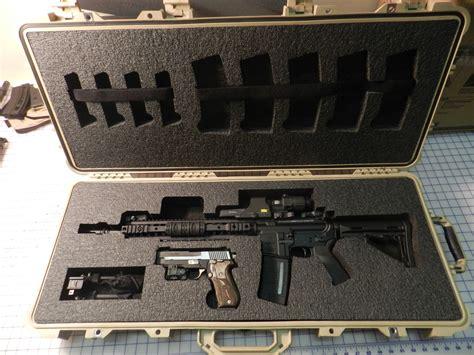 Custom Ar Case Foam Eotech