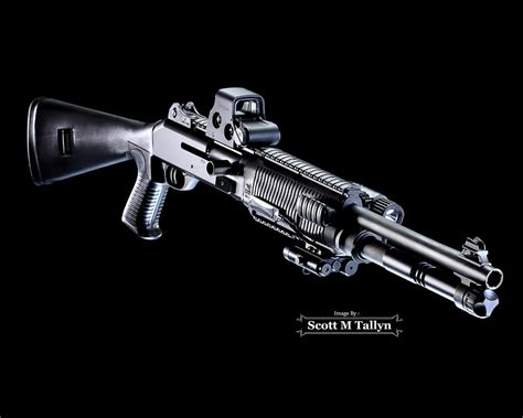 Custom Benelli M4 Tactical Shotgun