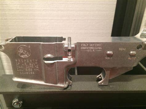 Custom Engraved M4 Lower Receiver