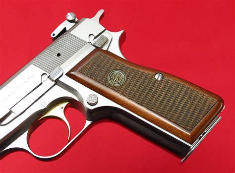 Custom Fn Belgian Browning Hipower Nickel Silver Chrome