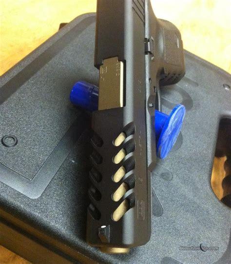 Custom Glock Slide Porting