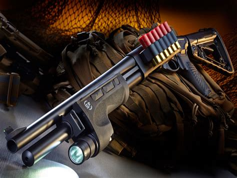 Custom Remington 870 Combat Shotgun