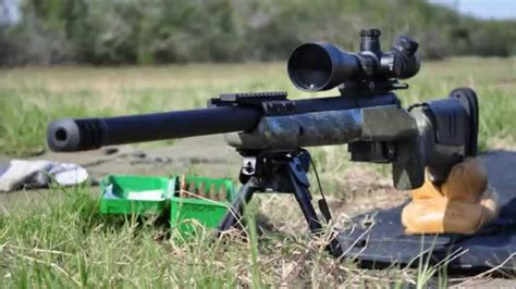 Custom Rifle Surgeon Action 308 Win Mcmillan A5