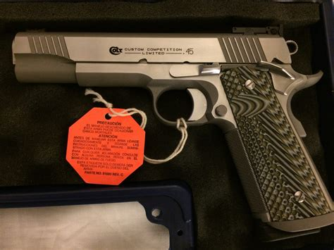 Customized Colt Competition 1911