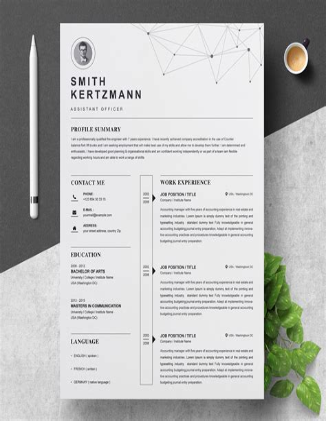 Cv Resume Template Najmlaemah CV Templates Download Free CV Templates [optimizareseo.online]