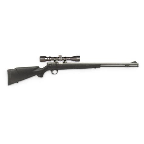 Cva Buckhorn 50 Cal Black Powder Rifle With Scope