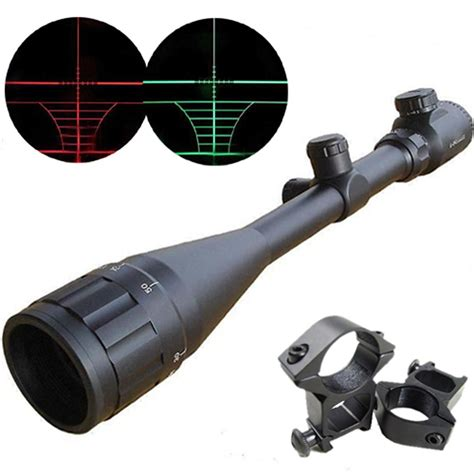 Cvlife Hunting Rifle Scope 6 24x50 Aoe Red And Green