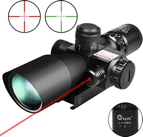 Cvlife Optics Hunting Rifle Scope 2 5 10x40e