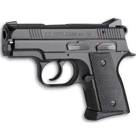 CZ USA CZ 2075 RAMI 3IN 9MM BLACK POLYCOAT BLACK RUBBER