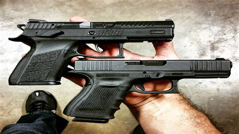 Cz Po7 Duty Vs Glock 19