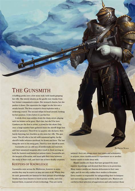 D D Gunsmith 5e Balanced