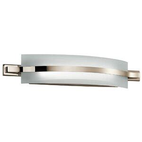 Dacian 1-Light Glass Shade Bath Bar