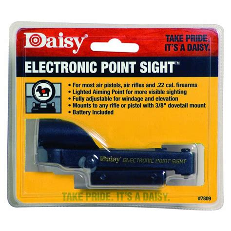 Daisy Electronic Red Dot Air Rifle Sight Scope