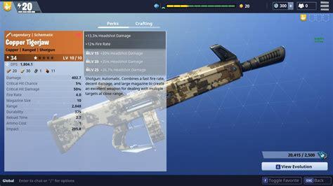 Damage Of A Gray Tactical Shotgun Do In Fortnite
