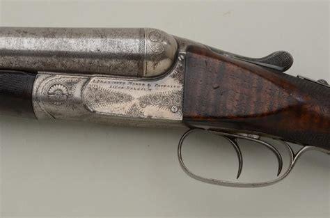 Damascus Steel Double Barrel Shotgun