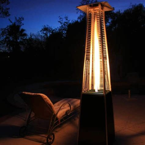 Dancing Flames Pyramid Outdoor 34,000 BTU Propane Patio Heater