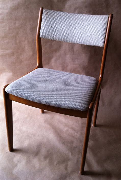Danish modern teak chairs restoration Image