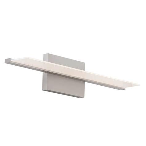 Davet 1-Light LED Glass Shade Bath Bar