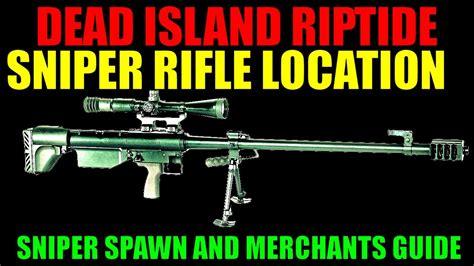 Dead Island Riptide Sniper Rifle
